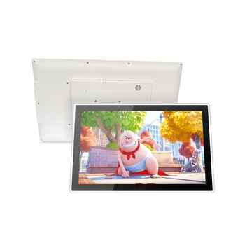 15.6 inch true flat wall mount industrial all in one panel pc capacitive touch screen computer