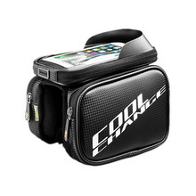CoolChange 6.0/6.2 Inch Cell Phone Bike Bag Cycling Bicycle Frame Front Head Top Tube Waterproof Bag Bike Accessories