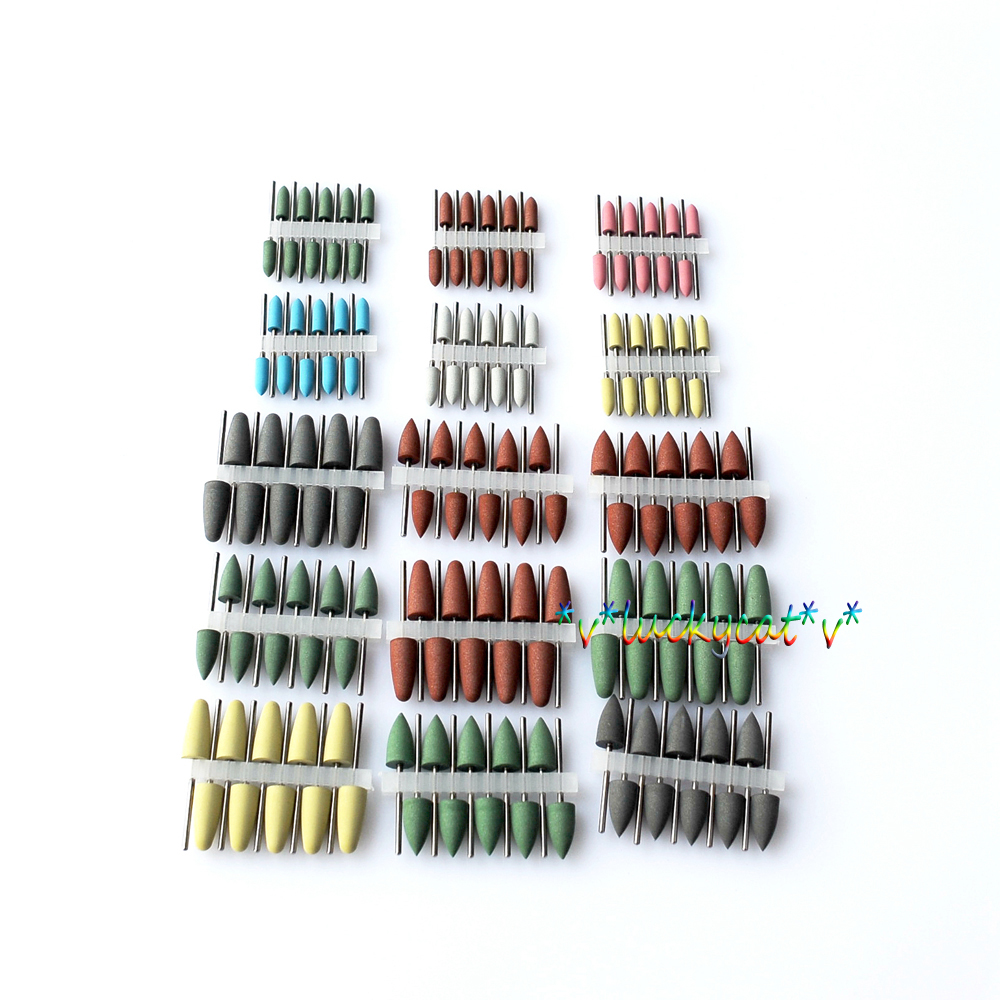 150Pcs  Dental Mixed SILICONE Polishers Polishing Burs 1pc zirkon zahn system dental milling burs and stylus 1l 2l 4l to be chosen