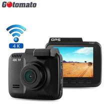 Gotomato GS63H Видеорегистраторы для автомобилей Новатэк 96660 чип GPS Logger WI-FI регистраторы HDMI Ultra HD 4 К 2880*2160 P автомобиль видео Регистраторы Камера