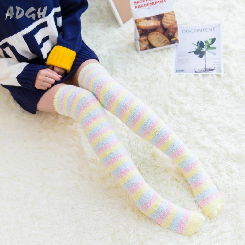 Princess Sweet Lolita Striped Stockings