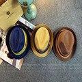 Versión coreana De La Nueva Verano Otoño Moda Color de Cáñamo sombrero Unisex Del Encanto Del Grano de Mejor Oferta Playa Formal Sombrero de paja sombrero