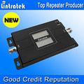 2017 lintratek sinal de celular impulsionador gsm 900 mhz + 3g 2100 mhz Dual Band Repetidor de Sinal de Telefone Móvel Duplo Display LCD Novo modo