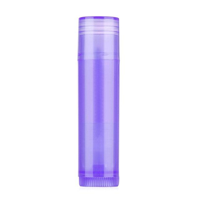 10 pièces 5 ML rouge à lèvres Tube bricolage baume à lèvres conteneurs vides cosmétiques baume à lèvres conteneur colle bâton clair bouteilles de voyage chaud