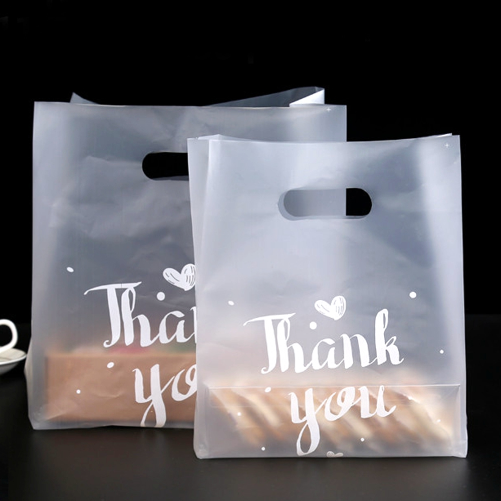 Gift-Bags Party-Favor-Bag Thank-You Plastic 50pcs