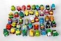 10pcs 3cm mini Trash Pack Wheel car toy child Toys