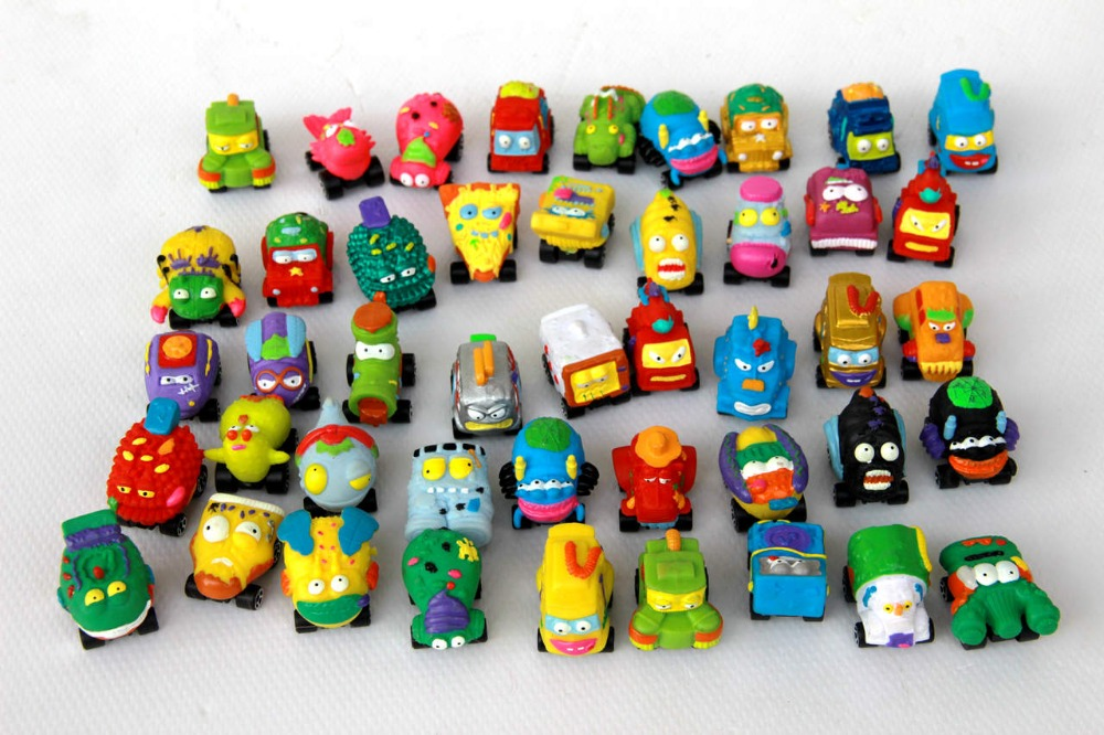 Buy Multi Style 3cm Mini Trash Pack Wheel Car Toy Child Toys