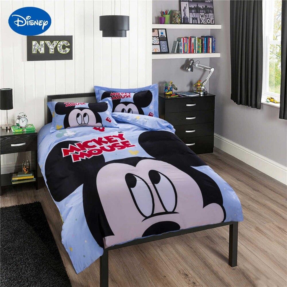 Dibujos animados de Disney Mickey Mouse impresión Ropa de cama de ...