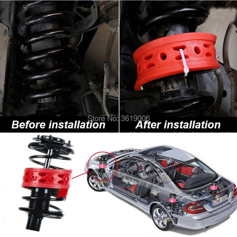 smRKE For Volkswagen VW Beetle High quality Front Rear Car Auto Shock Absorber Spring Bumper Power Cushion Buffer in Shock Absorber Parts from Automobiles Motorcycles