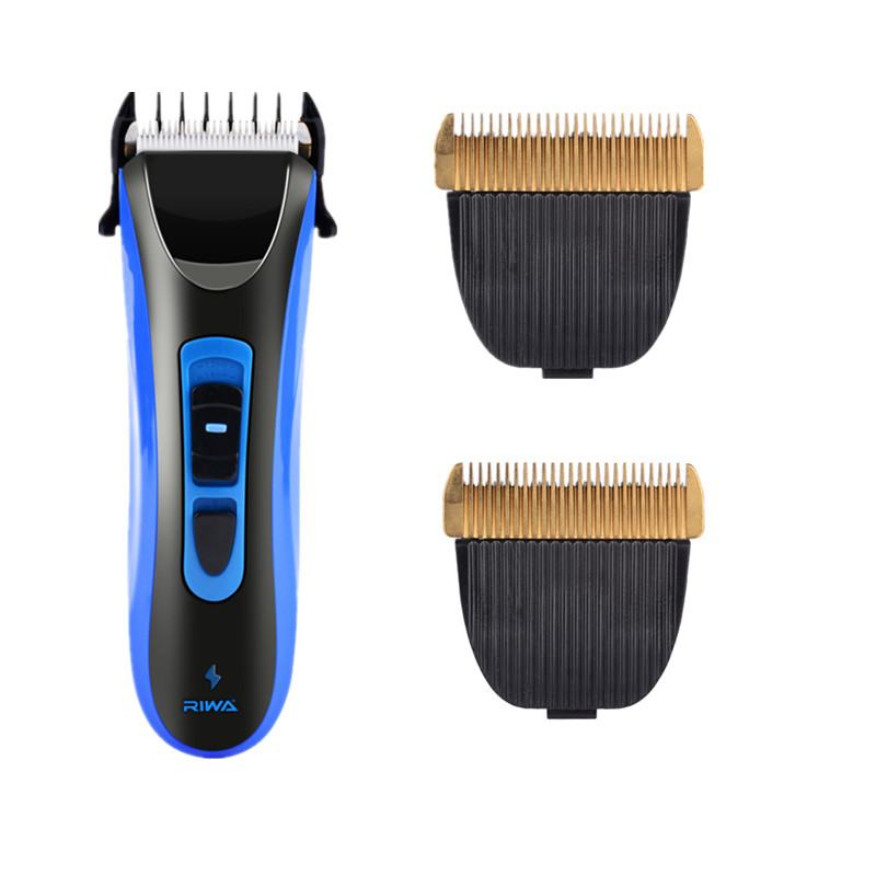 Professional Electric Hair Clipper Waterproof Barbershop Hair Cutting Machine Men Hair Trimmer with Replacement Ceramic Blade