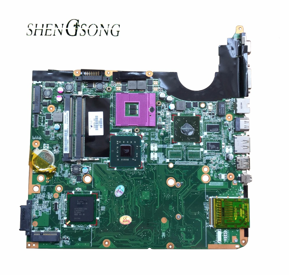 Free Shipping 578378-001 laptop motherboard For HP DV6 DV6-1000 DV6T motherboard DDR3 ,fully tested