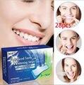 28 UNIDS Professional pastillas Para Blanquear Los Dientes Tiras de Blanqueamiento Dental tiras Más Blanca Más Blanca