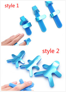 Image 1 - 3 Maten Verstelbare Medische Legering Spalk Vinger Multiplex Gezamenlijke Gemonteerd Revalidatie Vinger Orthese Hand Orthopedische