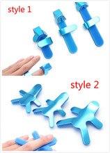 3 sizes Adjustable Medical Alloy Splint Finger Plywood Joint Fitted Rehabilitation Equipment Finger Orthosis Hand Orthopedic