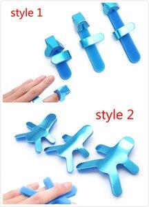 Image 1 - 3サイズ調整可能な医療合金スプリント指合板ジョイント機器指装具手整形外科