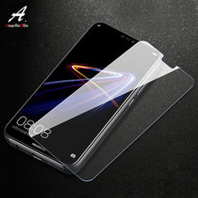 screen protector For Huawei Nova 4 Mate 20 lite For Honor 10 lite magic 2 play 7C 8x 9H tempered glass Front film case Phone Bag(China)