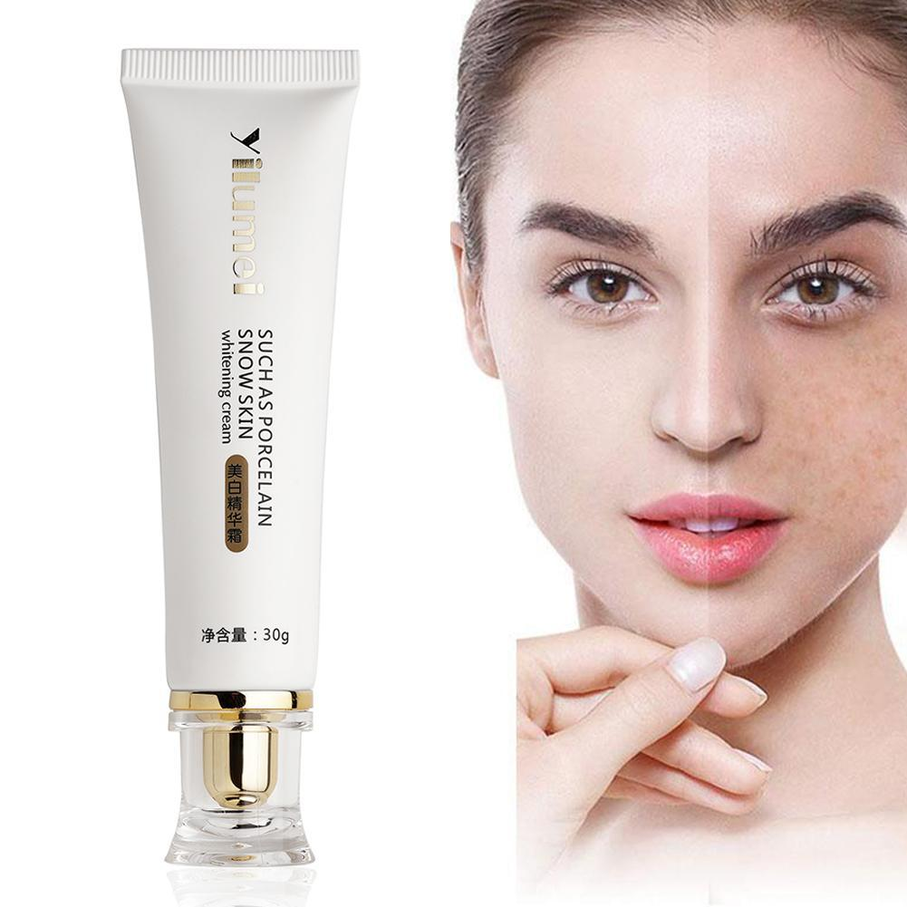 Whitening Cream Moisturizing Blemish Spot Freckle Cream Skin Bleaching Full Body Lotion Legs Knees Body Whitening Essence Cream