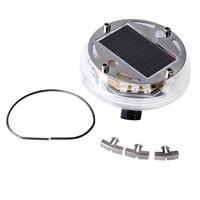 4 ADET 4 Modları 12 LED Araç Oto Güneş Enerjisi Flaş Tekerlek Lastik Işık Lambası Oto Uyarı Işığı Lamba Dekorasyon