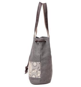 Image 4 - Borsa a tracolla da donna la nuova borsa di tela in stile nazionale e la borsa stampata retrò sono indossate dal dipartimento femminile Sen