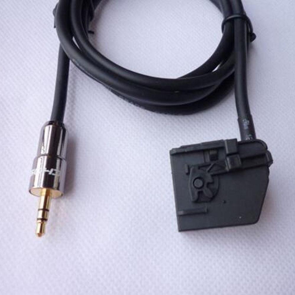 2 0 aux input audio cable for benz mercedes clk sl slk. Black Bedroom Furniture Sets. Home Design Ideas