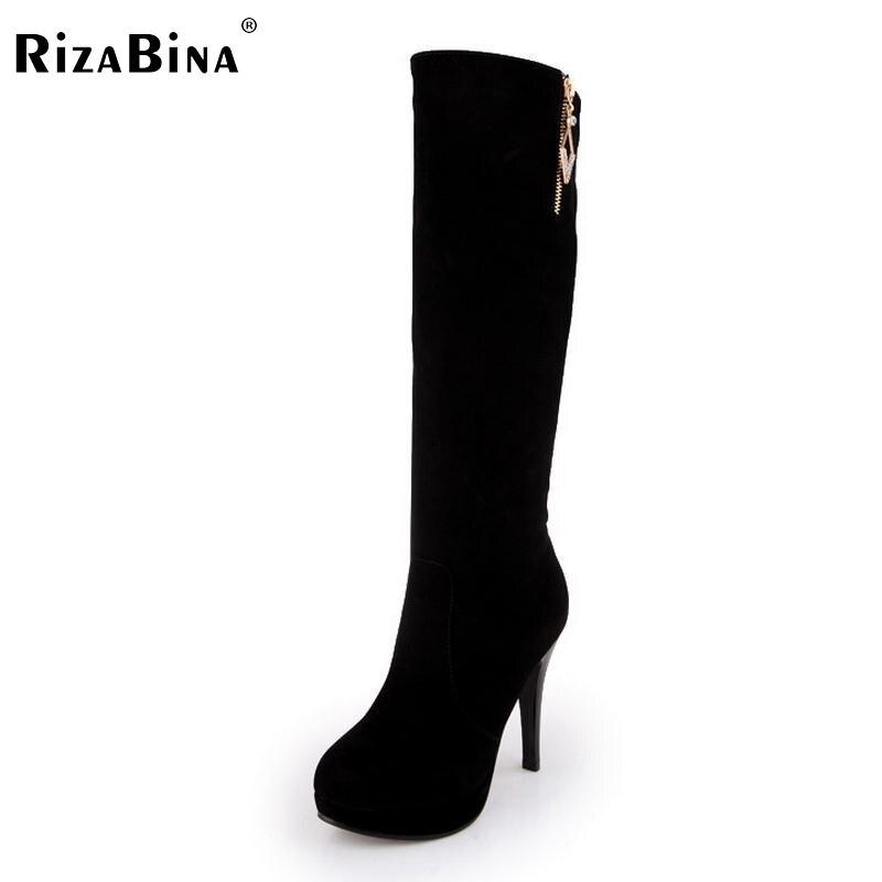women high heel half short boots bowtie autumn winter warm boot platform brand quality heels footwear shoes P22041 size 34-42  цена