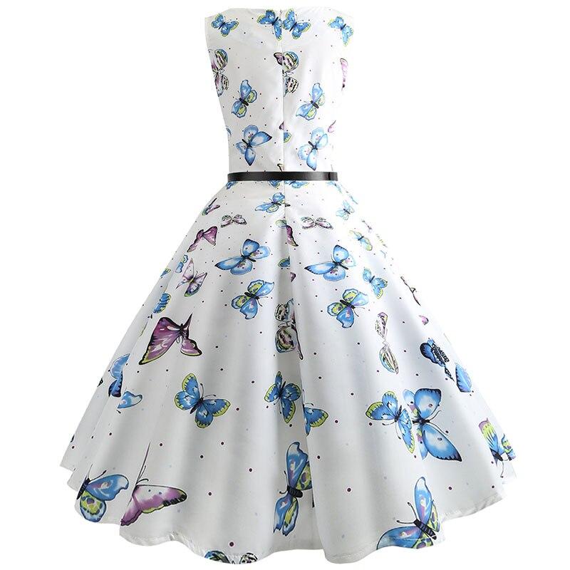 Blue Vintage Swing Dress 62
