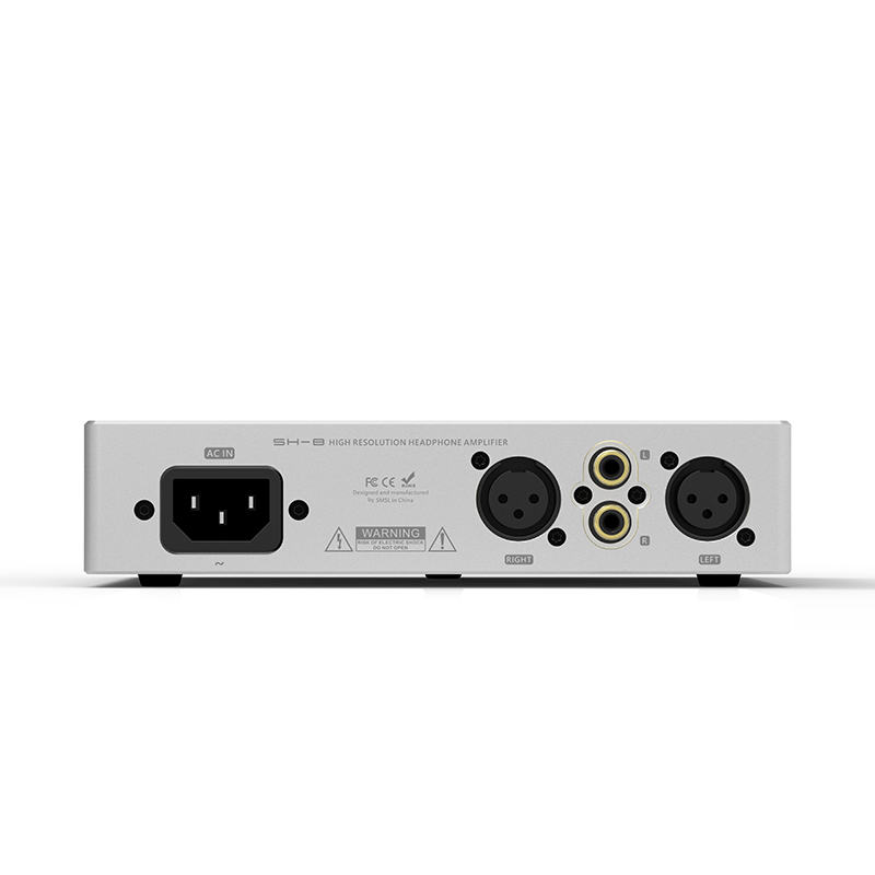 SMSL SH 8 Full Balanced Desktop HIFI Headphone Power Amplifier AMP High Performance with RCA/XLR Intput 6.35mm/Balanced Output-in Headphone Amplifier from Consumer Electronics    2