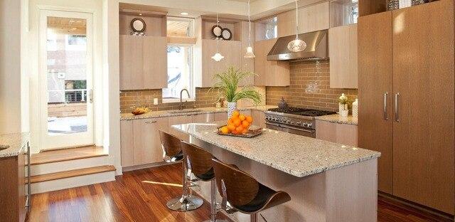 Personalizado clásico hace del gabinete de cocina iluminar su vida ...