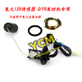 GY6 125 Scooter Fuel Level Sensor Gasoline Tank Sensor Oil Float Fuel Gauge Fit for Rear Tank Only CGQ-GH125