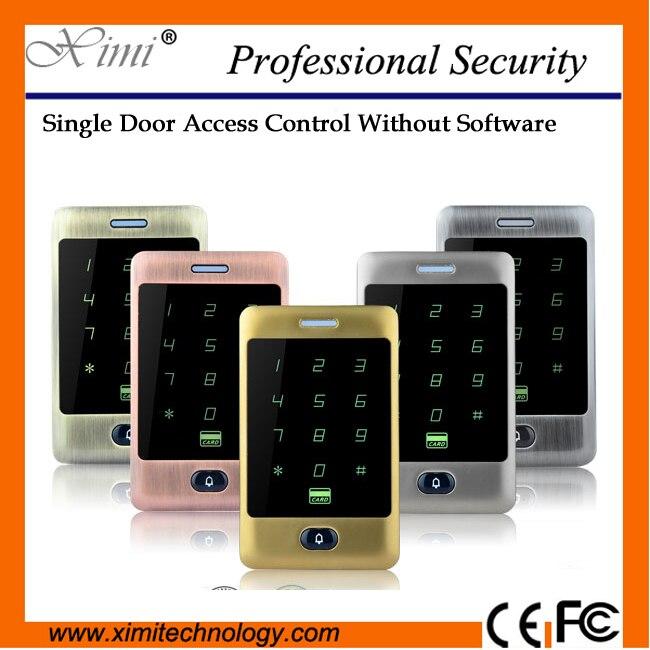 Hot sale new arrival M13A smart door control proximity reader 125khz rfid card 8000 card user standalone acces control кальсоны user кальсоны