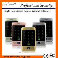 Hot sale new arrival M13A smart door control proximity reader 125khz rfid card 8000 card user standalone acces control