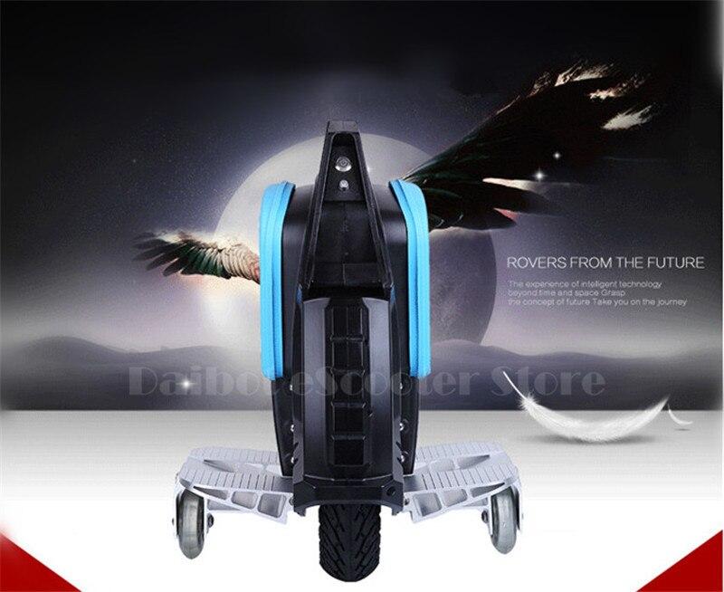 Daibot une roue électrique monocycle Scooter auto équilibrage Scooters avec haut-parleur Bluetooth 500W 60V Scooter électrique pour adultes - 4