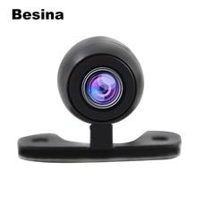 Besina Универсальная автомобильная парковочная камера заднего вида HD цветная Водонепроницаемая камера заднего хода с парковочной линией DC 12 В