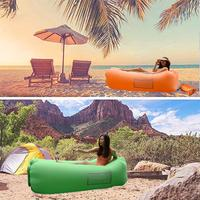 NEW Camping Sofa Inflatable Lounger with Carrying Bag Pockets for Indoors Outdoors Camping Beach Sofa