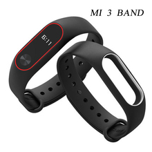 ФОТО for smart bracelet mi band 3 movement color silicone strap wristband suitable for mi3 millet interchangeable bracelet wristband
