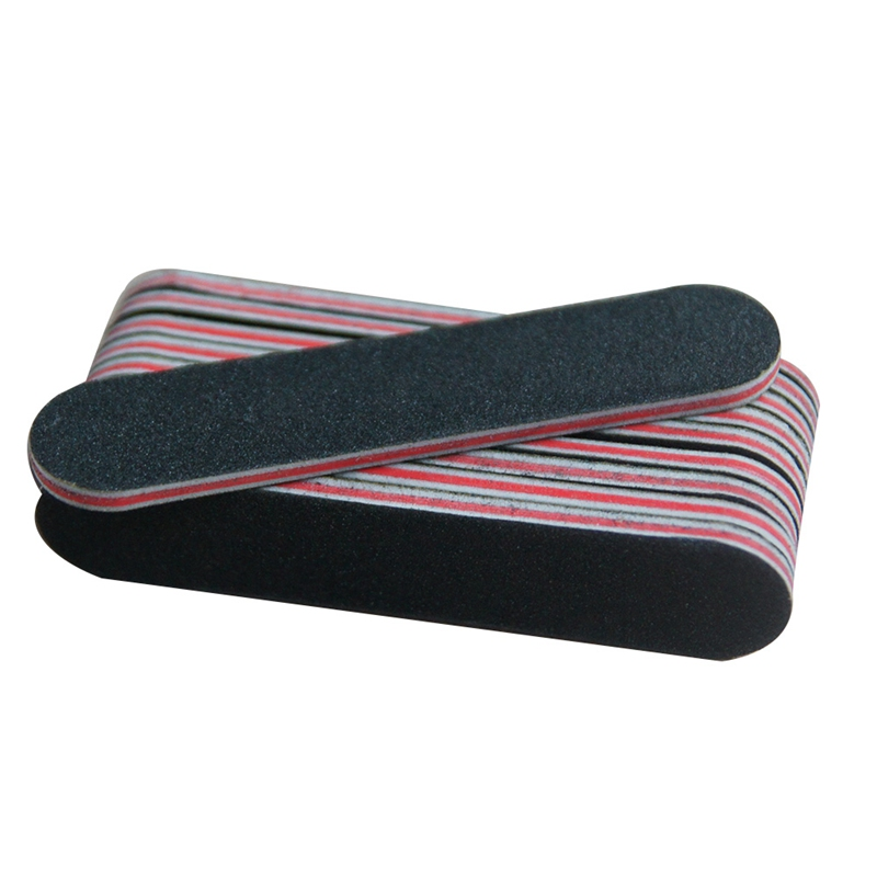1pcs Washable Nail Files Buffer Block Sanding Sponge Black Emery Board Sandpaper Uv Gel Polish Manicure Tool Accessories
