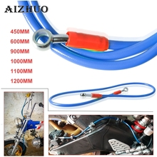 450-1200mm Motorcycle Dirt Bike Steel Hydraulic Reinforce Brake Line Clutch For SUZUKI DRZ400SM DR250R 250S 250SB HAYABUSA GSXR