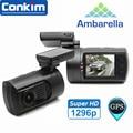 Car DVR Mini 0806 Dash Cam Camera Recorder Ambarella A7LA50 Super 1296P OV4689 With GPS Logger WDR Parking Sensor Dash camera