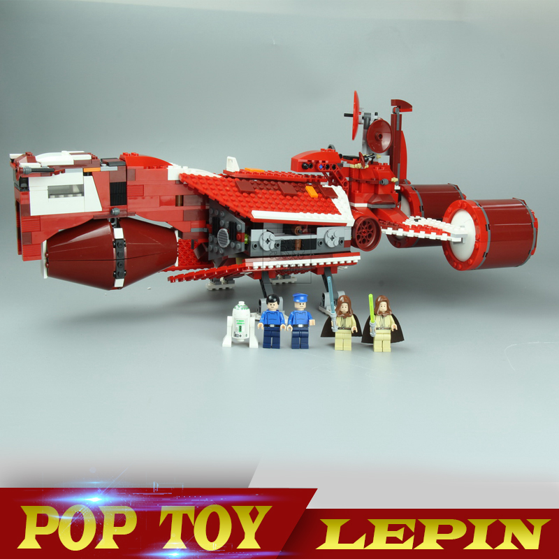 Lepin 05070 Star 963Pcs Series War set The Republic Cruiser Toy Children Educational Building Blocks Bricks Toys Model Gift 7665 lepin 05077 stars series war the ucs rupblic set star destroyer model cruiser st04 diy building kits blocks bricks children toys