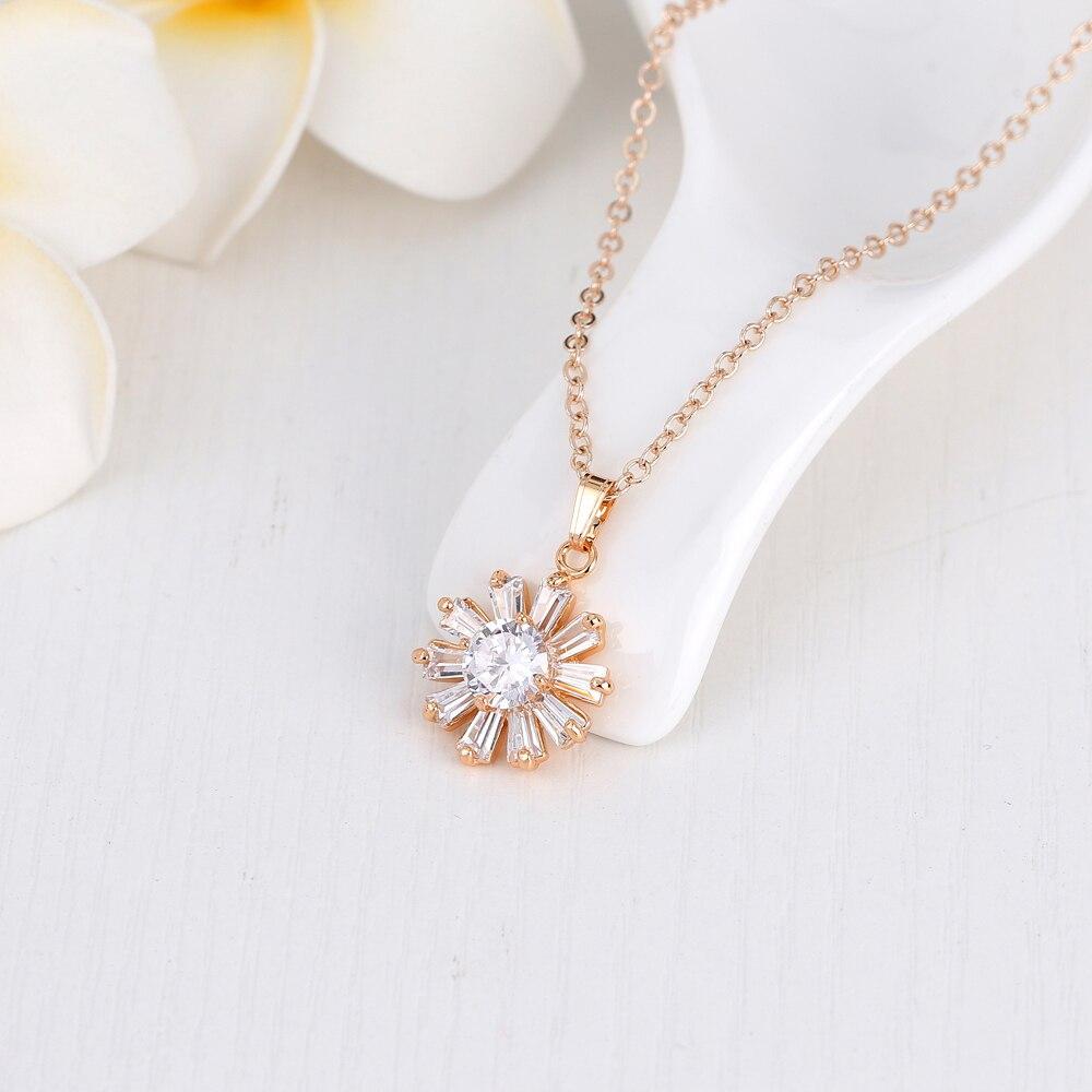 Danbihubia 3 цвета розового золота Цвет Наборы свадебных ювелирных изделий и больше для Для женщин свадебные с высокое качество AAA циркон
