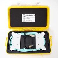 OTDR Dead Zone Eliminator,Fiber Rings ,Fiber Optic OTDR Launch Cable Box MM OM3 FC/UPC SC/UPC 500M