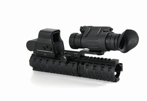 лучшие продажи цифровые приборы ночного видения прицел инфракрасный пвс-14 ночного видения устройства устанавливается на тактический шлем и железнодорожных пистолет gz270008