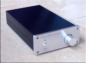 WL-LM38 Black Gold Commemorative Edition LM3886 Amp HIFI Stereo Power Amplifier 68WX2 Finished Audio Amplifier