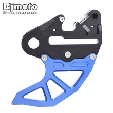 BJMOTO Motorcycle Rear Brake Disc Guard Cover Protector For Husqvarna FC250 FC350 FC450HQ TE310i TX300  Brakes Caliper Support nicecnc rear brake caliper support