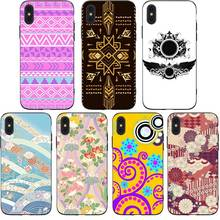 Lovely Cute Flowered  Phone Cases Cover for iphone X XR XS MAX 6 6s 7 8 Plus TPU Cover Coque For iphone 7 8Plus iphone 5SE Cases rick and motry phone cases cover for iphone x xr xs max 6 6s 7 8 plus tpu cover coque for iphone 7 8plus iphone 5se cases