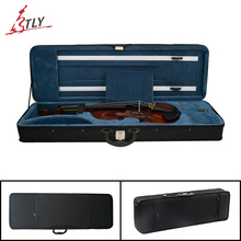 Free Shipping High Quality Oxford Fabric Rectangle Violin Case Full Size 4/4 Violino Case w/ Belt