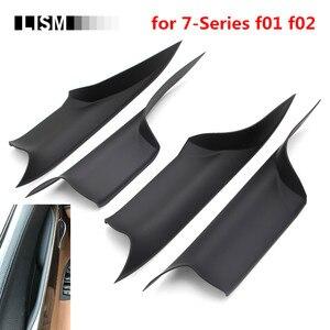 Image 1 - Auto Interieur Deurgrepen Voor Bmw F01 F02 7 Serie Voor Achter Links Rechts Binnen Deuren Panel Handvat Bar pull Carrier Trim Cover