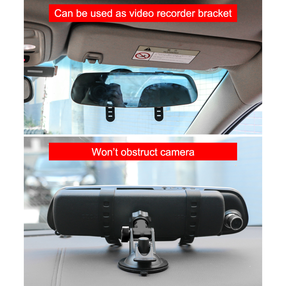 Interior Rear View Strong Suction Cup Mirror Windscreen Windshield Car Van Truck