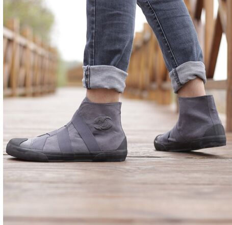 Hommes Top New Toile 01 Glissent Tennis Casual Chaussures Sur 04 Hombre 02 Espadrilles 03 High Homme Zapatillas Appartements 2018 pntxfFn