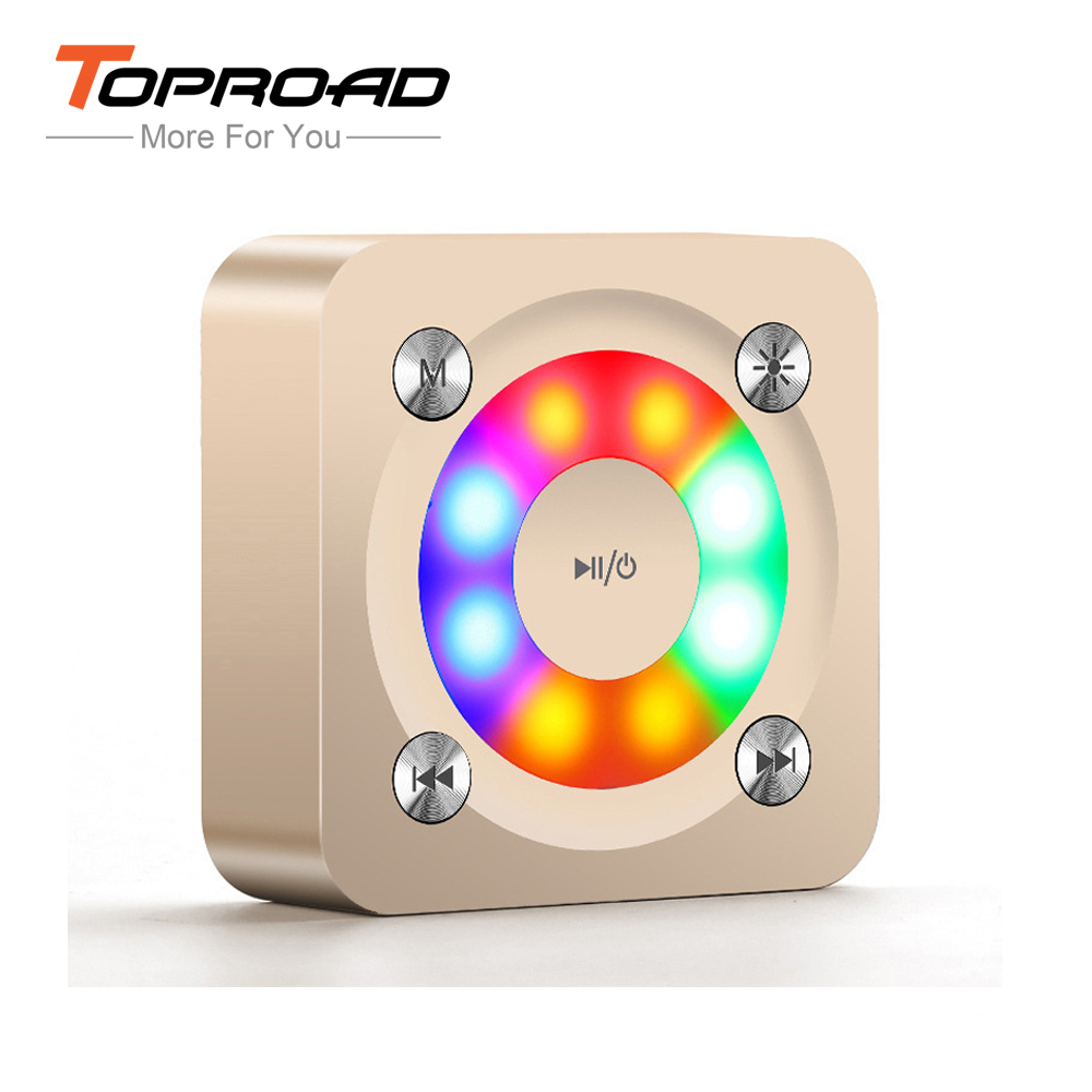 Wireless Bluetooth Speaker Portable Mini Caixa De Som Subwoofer Speakers Music Sound Box With Mic TF For Smart Phones PC